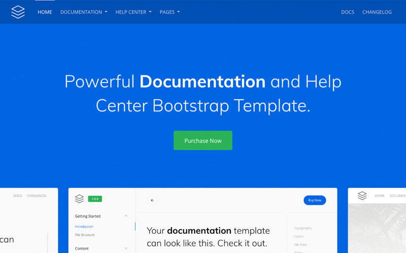 Guidebook Online Documentation Template