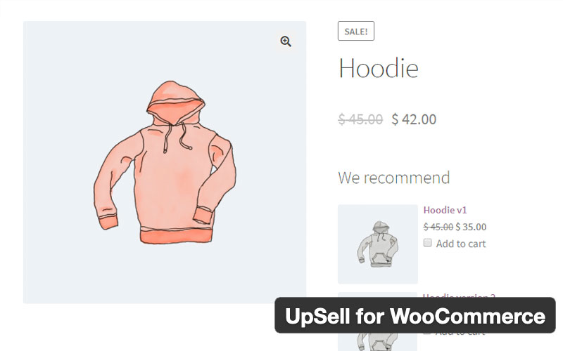 Upsell For Woocommerce