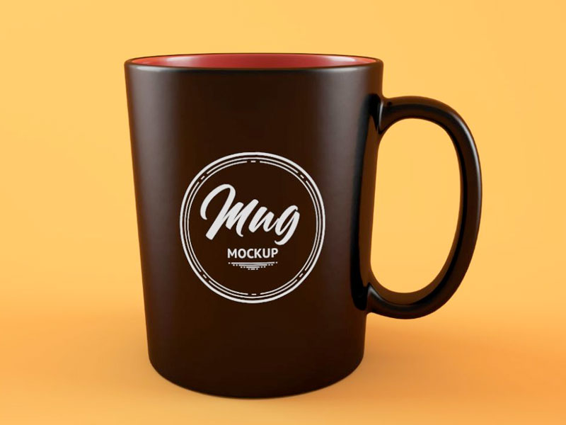 Clean Coffee Mug Mockup