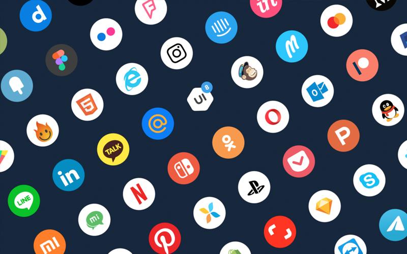 Social Icons Freebie