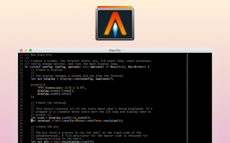 Alacritty Is A Terminal Emulator With A Strong Focus On Simplicity And Performance