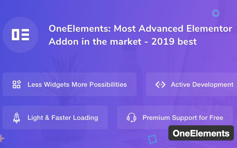 Oneelements Best Elementor Addons