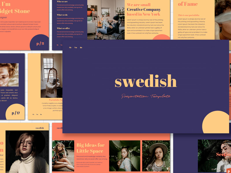Swedish Presentation Template