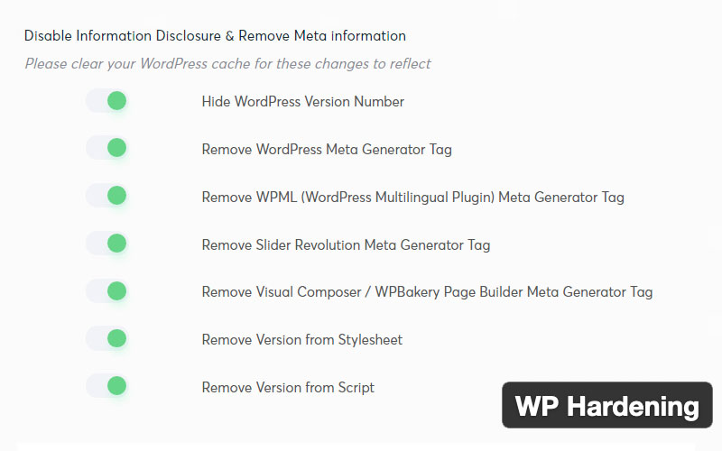 Wp Hardening Fix Your WordPress Security