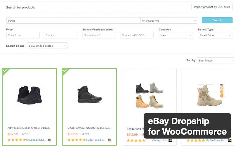 eBay Dropship For Woocommerce