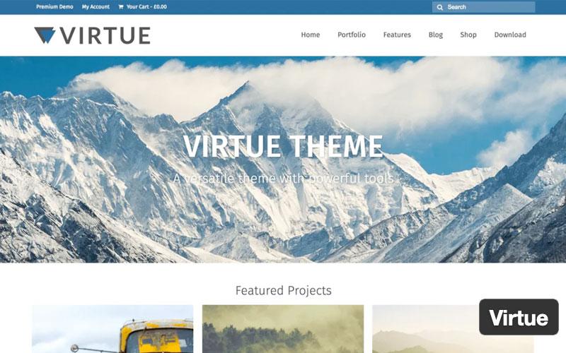Virtue Gutenberg WordPress Themes