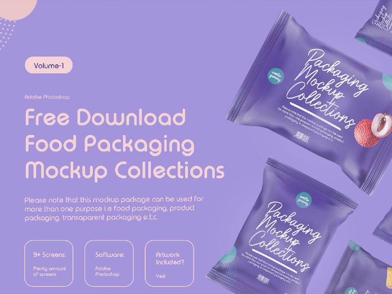Food Packaging Mockup Collection