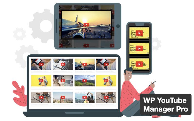 Wp Youtube Manager Pro