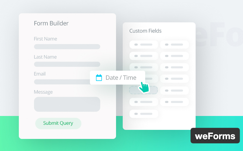 Weforms Easy Drag & Drop Contact Form Builder For WordPress