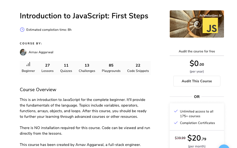 Introduction To Javascript First Steps