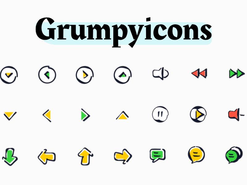 Grumpyicons Free Icons