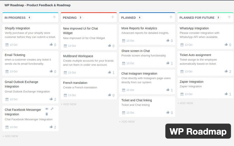 Wp Roadmap