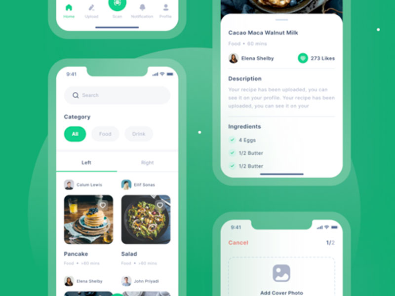 Chefio Recipe App Ui Kit