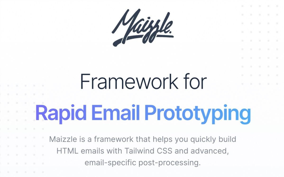 Maizzle Email Framework