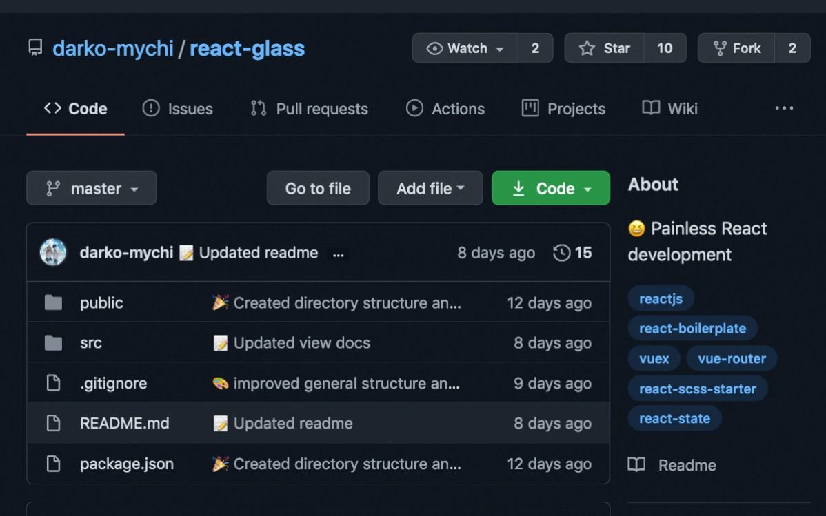 React Glass