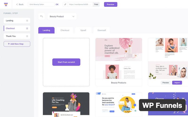 Wp Funnels The Ultimate Sales Funnel Builder For WordPress & Woocommerce