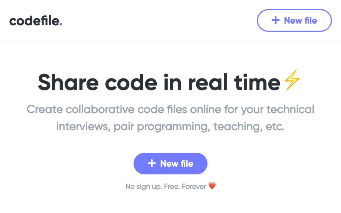 Codefile