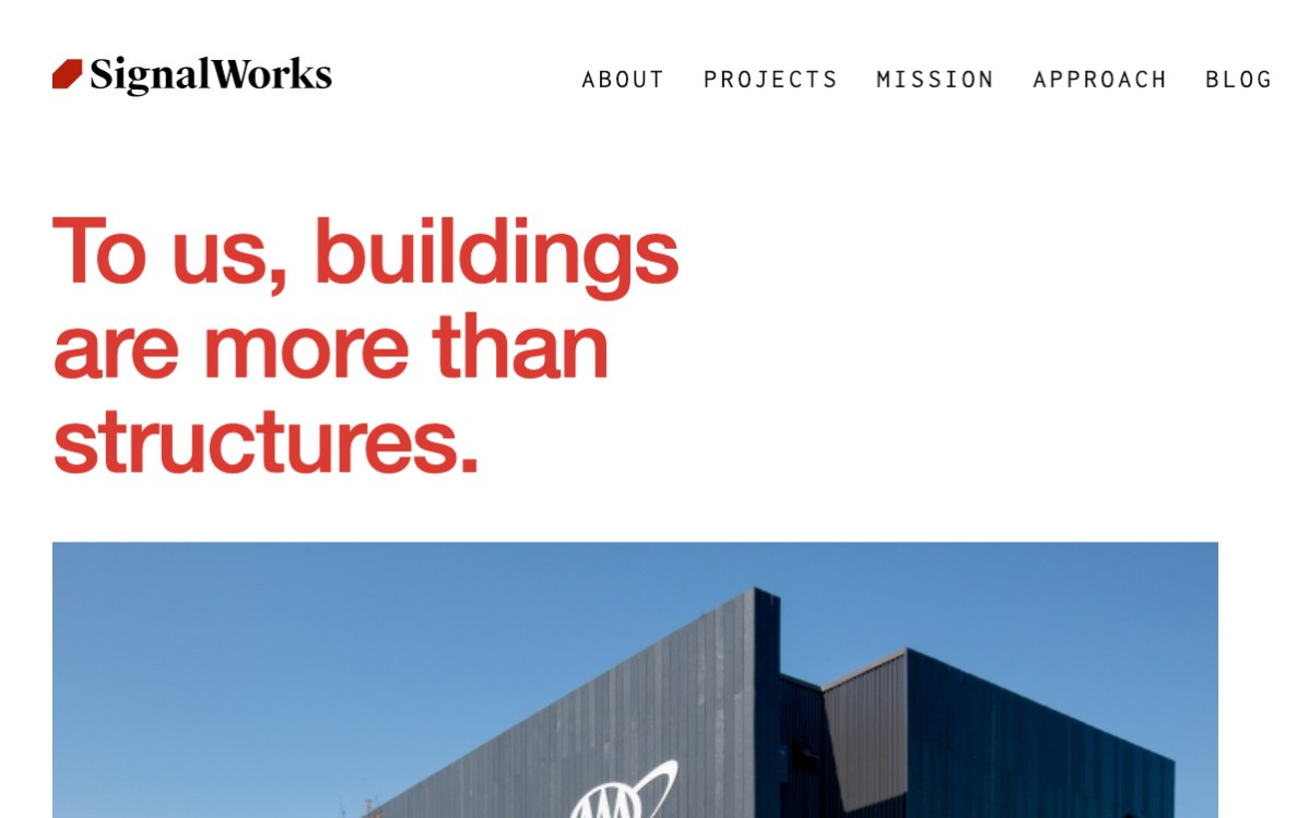Signal Works Architecture