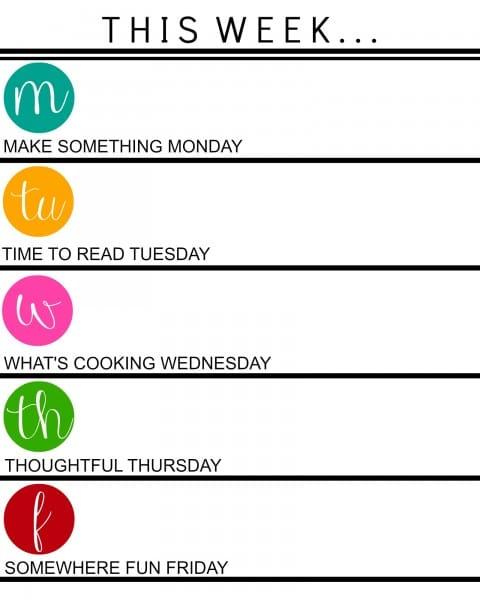 summer schedule