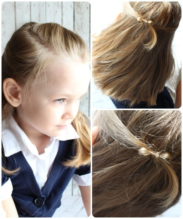 hairstyles easy hair cute hairstyle simple styles cut own knotty rainbows feeling less somewhatsimple