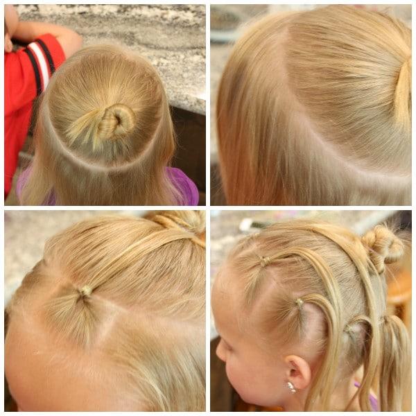 Spider Hair Collage 2