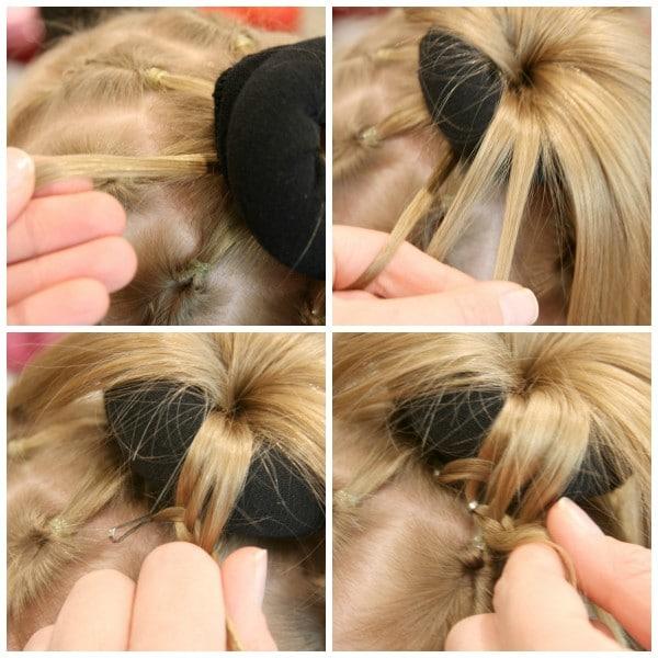 Spider Hair Collage 4
