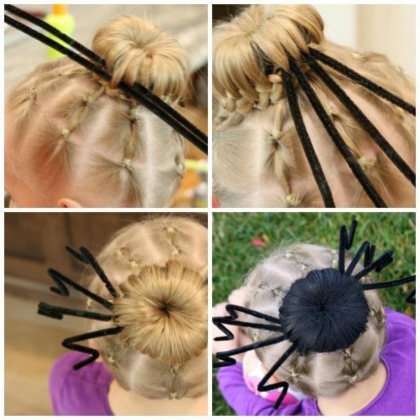 Spider Hair Collage 6