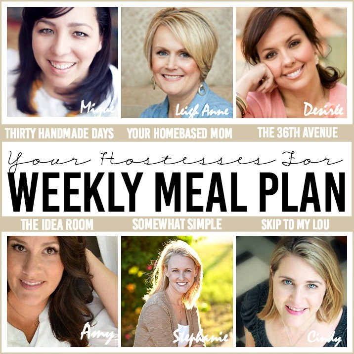 Weekly Meal Plan Hostesses