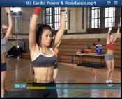 Cardio Power & Resistance Videos