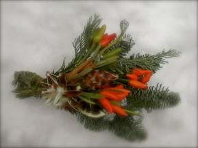 可愛いクリスマスの飾り