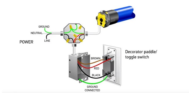 setting rolling shutter limits for 4wire motors with push