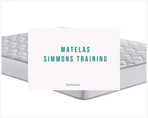 Avis Matelas Simmons Training Prix Et Avis Du Modele Training