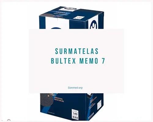 Avis Surmatelas Bultex Memo 7 Test Et Prix De Cette Reference