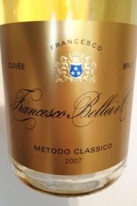 www.sommelierxte.it Francesco Bellei 2007 Cuvée Speciale Brut B