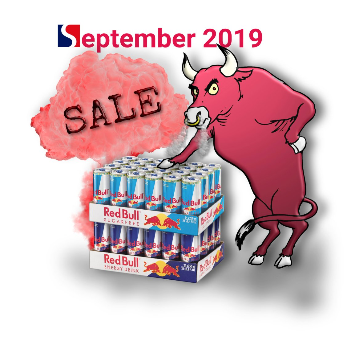 Sale Red Bull