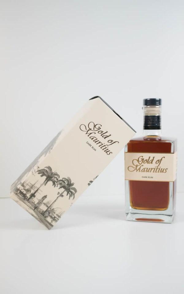 Gold of Mauritius Dark Rum 40% 0,7l