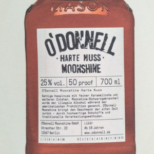 O'Donnell Moonshine Harte Nuss 0,7l