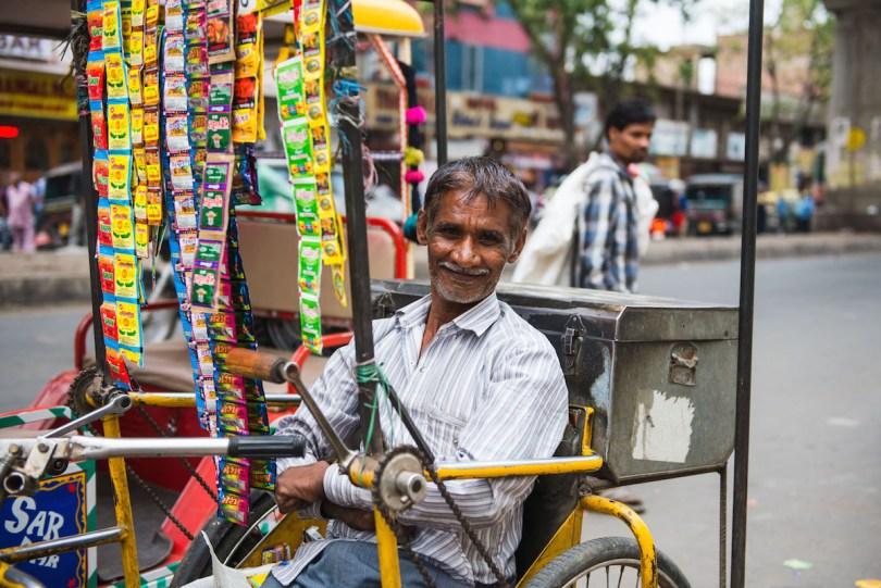 Zuckerlverkäufer-Indien