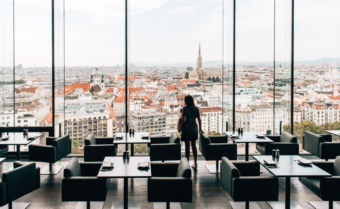 Ausblick Le Loft Wien
