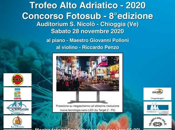 Concorso Fotosub VIII Trofeo Alto Adriatico 2020