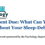 What can you do about your sleep-debt banner