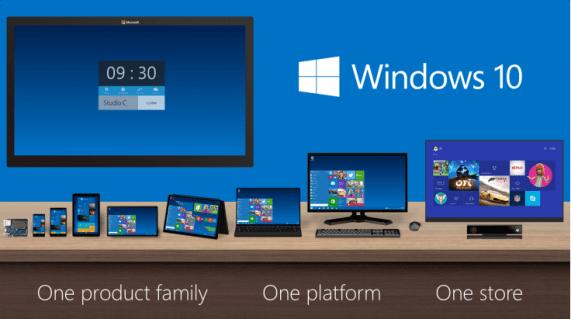 Windows 10 es el nuevo ecosistema de Microsoft para todos los dispositivos.