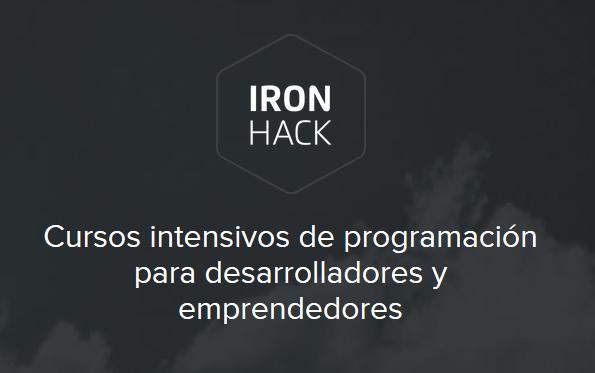 Ironhack te enseña a programar