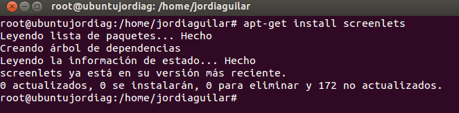 Instalanado los Widgets en nuestro escritorio de Linux