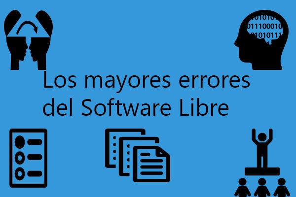 Te contamos los mayores problemas que tiene los proyectos de software libre para que no cometas sus errores