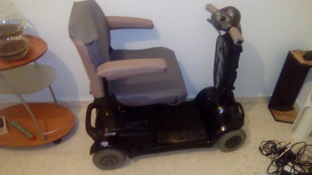 silla de ruedas del proyecto