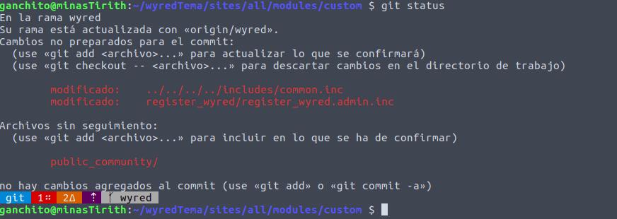 Git Aware Terminal te ayuda a entender cuál es el estado de tu repositorio