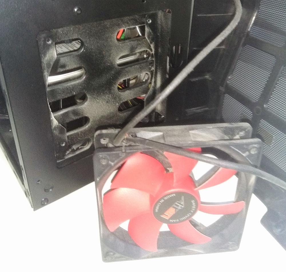 El polvo de los ventiladores es lo que más hay que limpiar