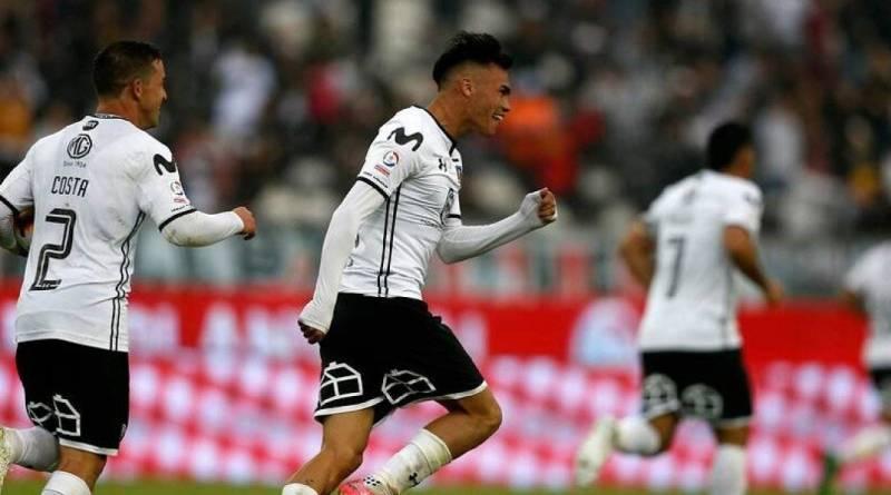 Gabriel Suazo Colo Colo. Vía: Photosport