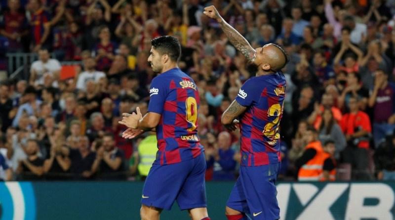 Arturo Vidal Barcelona - Reuters